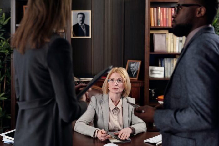 labor law audit female lawyer