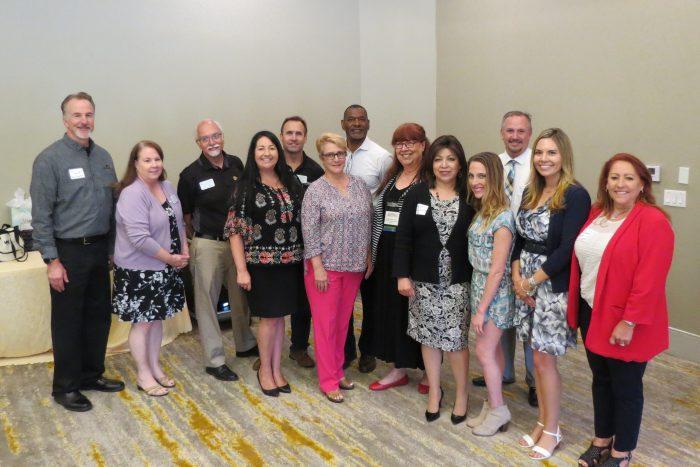 San Dimas Chamber Client Spotlight Board