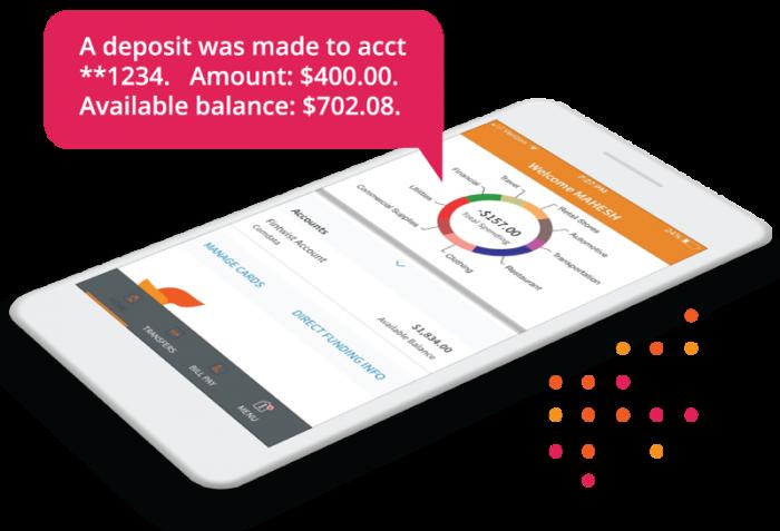 Fintwist pay card direct deposit alert