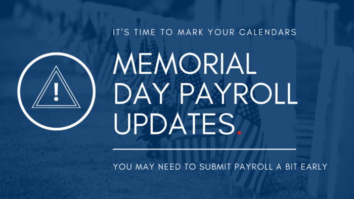 Memorial Day banking holiday
