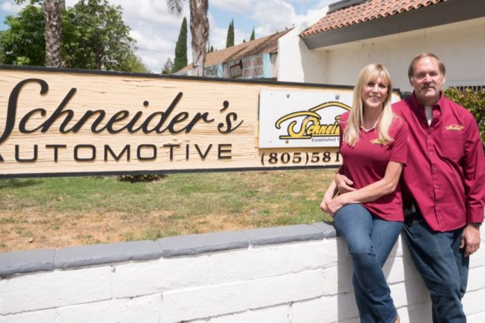 Schneider's Auto Repair Ken and Paula